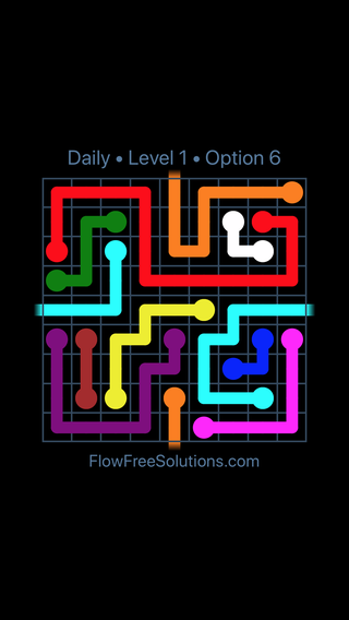 Solution and Answer to the Puzzle for Warps Date Wednesday, March 16, 2016 Level 1