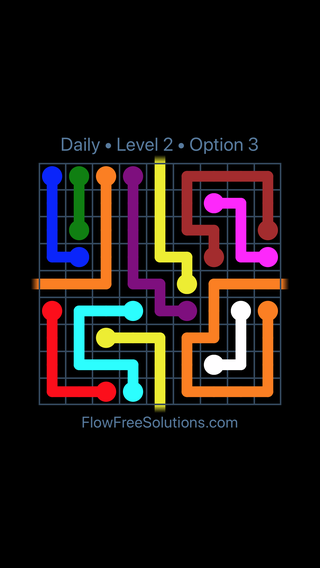 Solution and Answer to the Puzzle for Warps Date Wednesday, March 16, 2016 Level 2