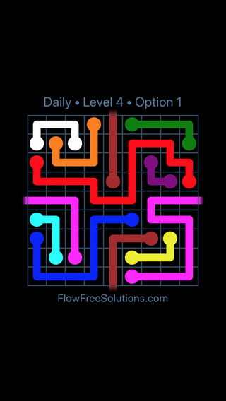 Solution and Answer to the Puzzle for Warps Date Wednesday, March 16, 2016 Level 4