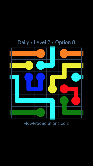 Solution and Answer to the Puzzle for Warps Date Thursday, March 17, 2016 Level 2