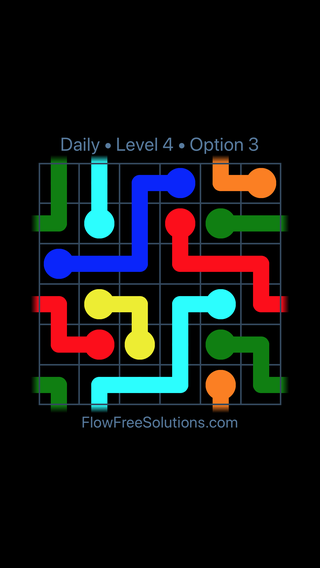 Solution and Answer to the Puzzle for Warps Date Thursday, April 12, 2018 Level 4