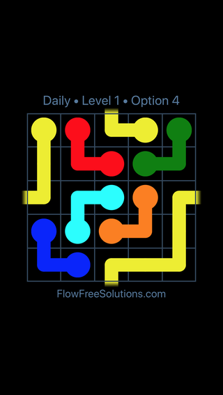Solution and Answer to the Puzzle for Warps Date Friday, March 18, 2016 Level 1