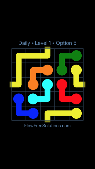 Solution and Answer to the Puzzle for Warps Date Friday, April 13, 2018 Level 1