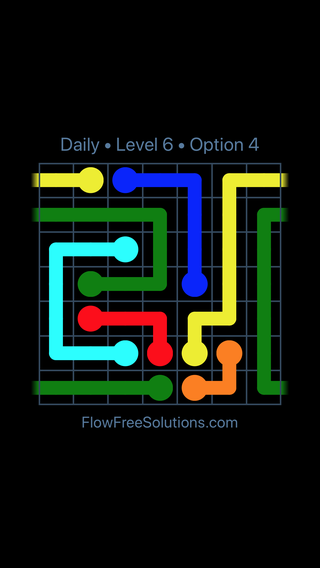 Solution and Answer to the Puzzle for Warps Date Saturday, June 11, 2016 Level 6