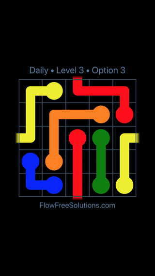 Solution and Answer to the Puzzle for Warps Date Monday, March 21, 2016 Level 3