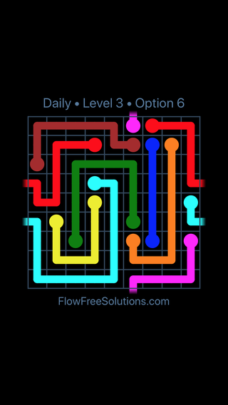 Solution and Answer to the Puzzle for Warps Date Tuesday, July 10, 2018 Level 3