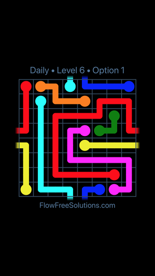 Solution and Answer to the Puzzle for Warps Date Tuesday, April 17, 2018 Level 6