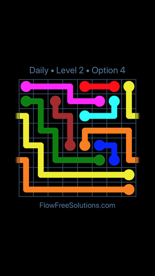 Solution and Answer to the Puzzle for Warps Date Wednesday, April 18, 2018 Level 2