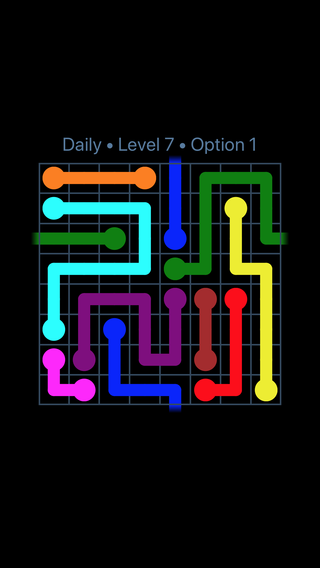 Solution and Answer to the Puzzle for Warps Date Wednesday, April 18, 2018 Level 7
