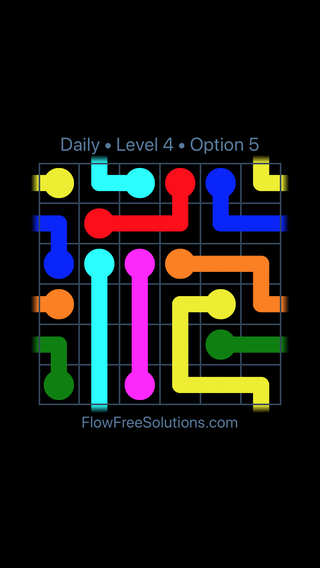 Solution and Answer to the Puzzle for Warps Date Thursday, March 24, 2016 Level 4