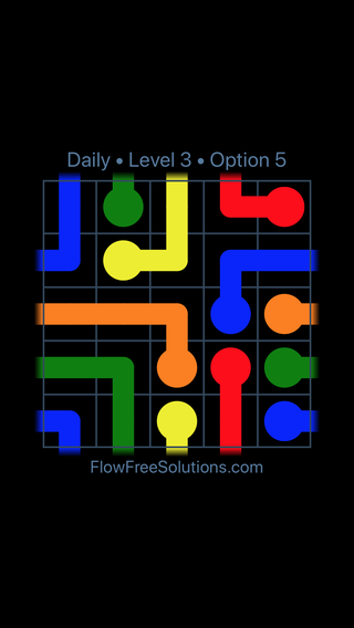 Solution and Answer to the Puzzle for Warps Date Tuesday, March 8, 2016 Level 3
