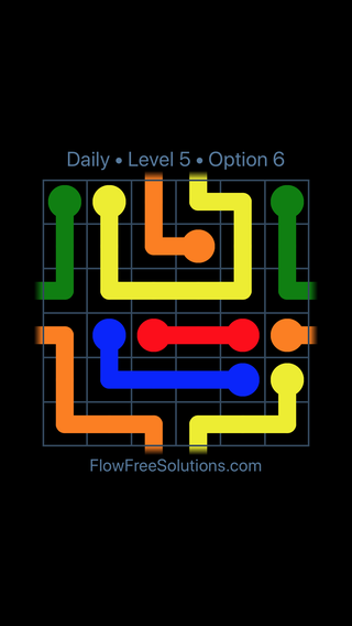 Solution and Answer to the Puzzle for Warps Date Tuesday, March 8, 2016 Level 5