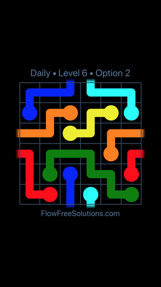 Solution and Answer to the Puzzle for Warps Date Tuesday, March 8, 2016 Level 6