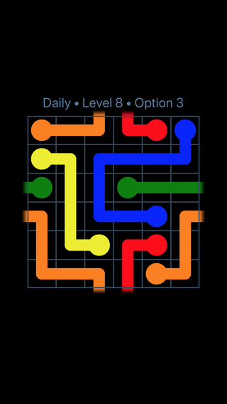 Solution and Answer to the Puzzle for Warps Date Tuesday, January 9, 2018 Level 8