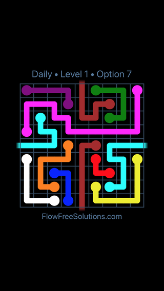 Solution and Answer to the Puzzle for Warps Date Saturday, September 7, 2019 Level 1