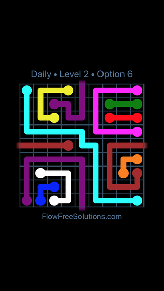 Solution and Answer to the Puzzle for Warps Date Saturday, March 26, 2016 Level 2