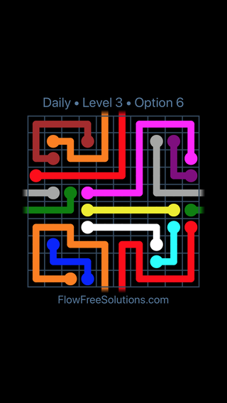 Solution and Answer to the Puzzle for Warps Date Saturday, September 7, 2019 Level 3