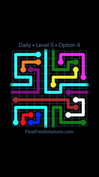 Solution and Answer to the Puzzle for Warps Date Saturday, March 26, 2016 Level 5
