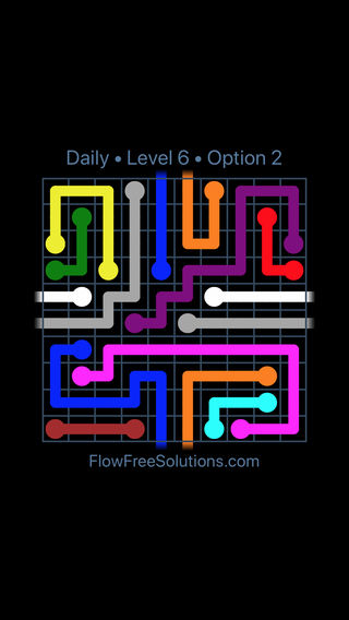 Solution and Answer to the Puzzle for Warps Date Saturday, September 7, 2019 Level 6