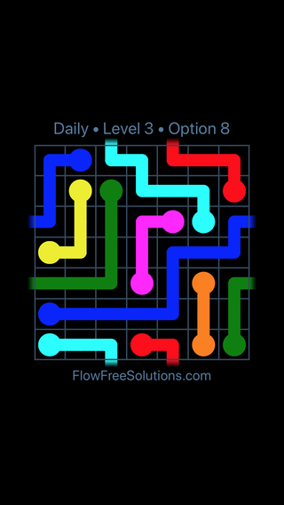 Solution and Answer to the Puzzle for Warps Date Sunday, September 8, 2019 Level 3