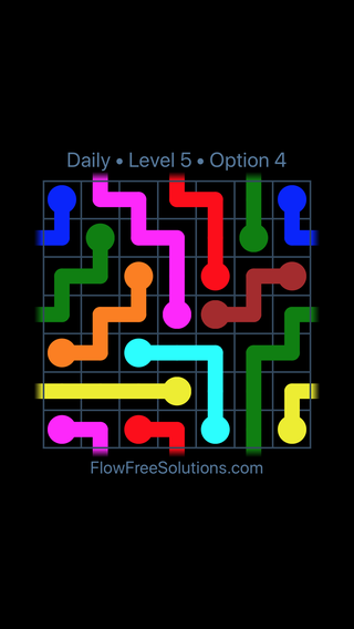 Solution and Answer to the Puzzle for Warps Date Sunday, March 27, 2016 Level 5