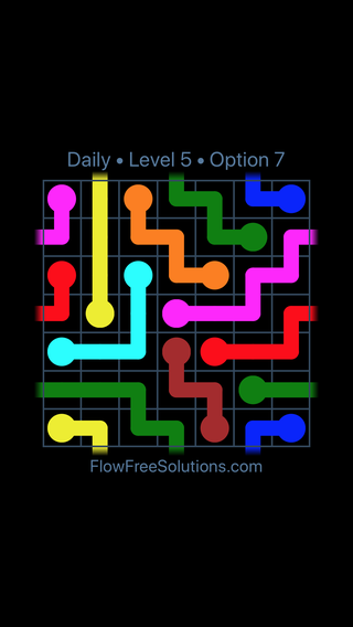 Solution and Answer to the Puzzle for Warps Date Sunday, September 8, 2019 Level 5