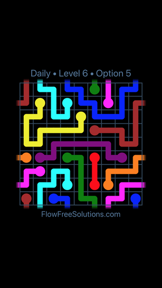 Solution and Answer to the Puzzle for Warps Date Sunday, October 7, 2018 Level 6