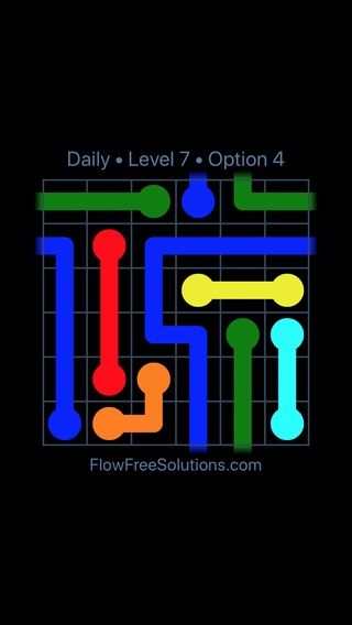 Solution and Answer to the Puzzle for Warps Date Sunday, March 27, 2016 Level 7