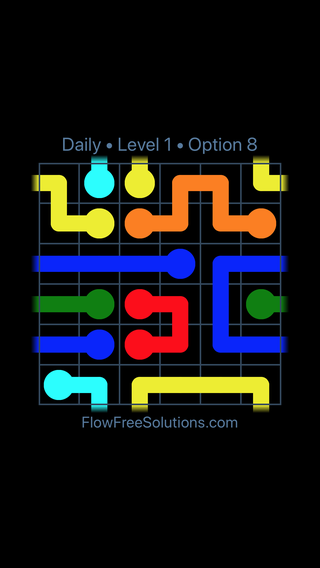 Solution and Answer to the Puzzle for Warps Date Tuesday, September 10, 2019 Level 1