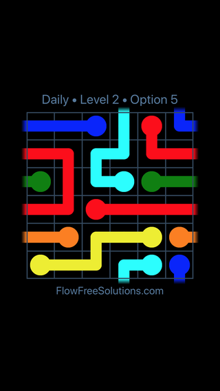 Solution and Answer to the Puzzle for Warps Date Tuesday, June 21, 2016 Level 2