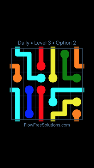 Solution and Answer to the Puzzle for Warps Date Tuesday, October 9, 2018 Level 3