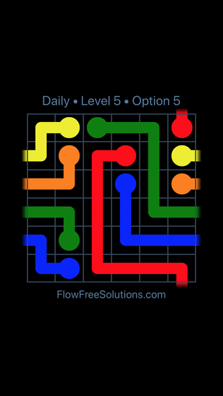 Solution and Answer to the Puzzle for Warps Date Tuesday, June 21, 2016 Level 5