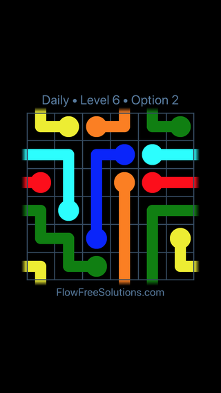 Solution and Answer to the Puzzle for Warps Date Tuesday, September 10, 2019 Level 6