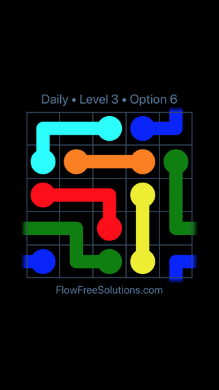 Solution and Answer to the Puzzle for Warps Date Wednesday, March 30, 2016 Level 3