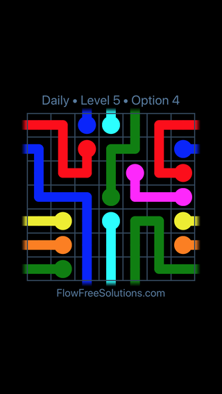 Solution and Answer to the Puzzle for Warps Date Wednesday, June 22, 2016 Level 5