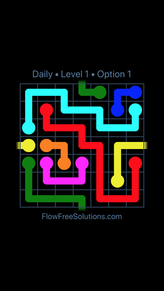 Solution and Answer to the Puzzle for Warps Date Thursday, September 12, 2019 Level 1