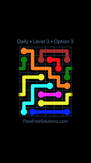 Solution and Answer to the Puzzle for Warps Date Friday, October 12, 2018 Level 3
