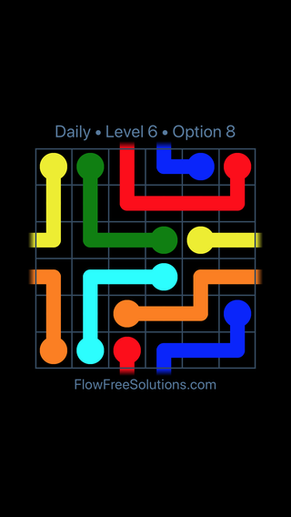 Solution and Answer to the Puzzle for Warps Date Friday, September 13, 2019 Level 6