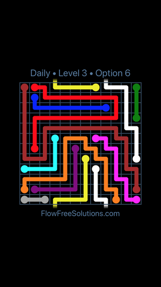 Solution and Answer to the Puzzle for Warps Date Saturday, June 25, 2016 Level 3