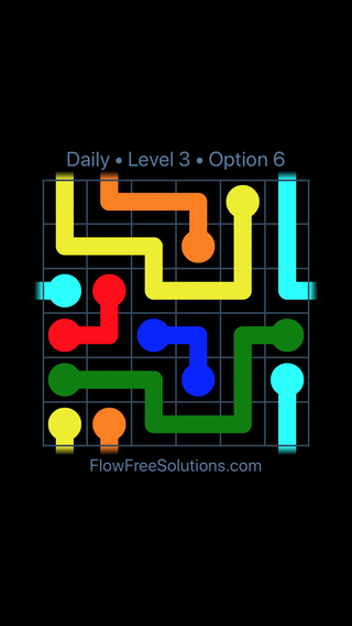 Solution and Answer to the Puzzle for Warps Date Sunday, April 3, 2016 Level 3