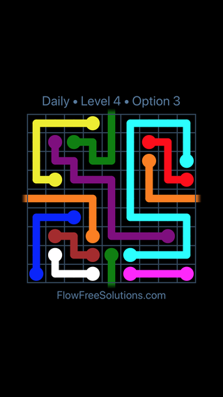 Solution and Answer to the Puzzle for Warps Date Monday, January 7, 2019 Level 4