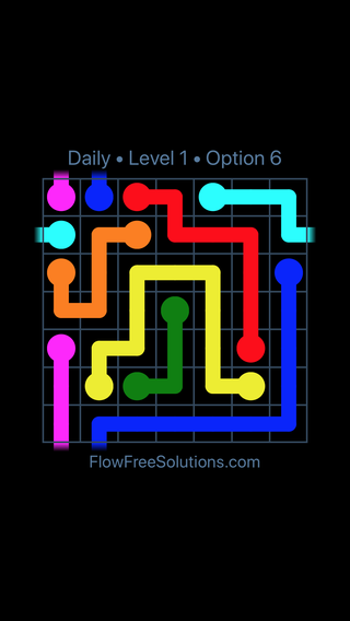 Solution and Answer to the Puzzle for Warps Date Wednesday, January 10, 2018 Level 1
