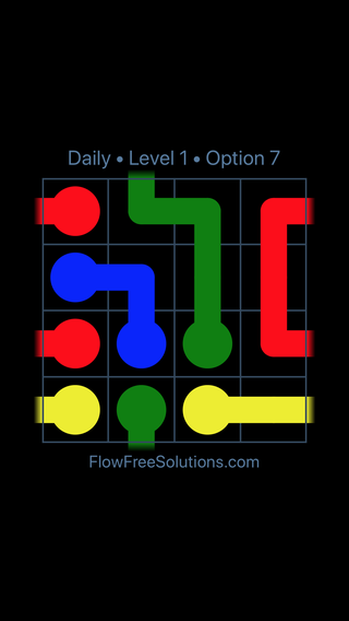 Solution and Answer to the Puzzle for Warps Date Tuesday, January 8, 2019 Level 1