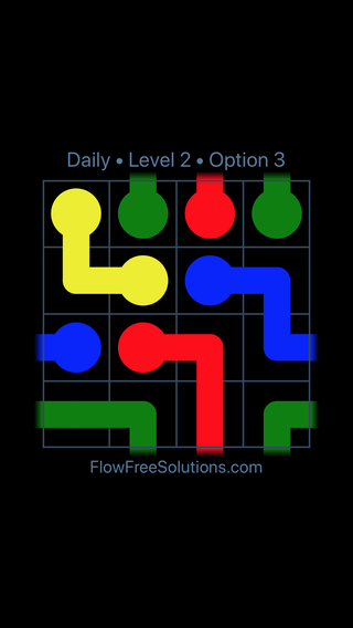 Solution and Answer to the Puzzle for Warps Date Tuesday, April 5, 2016 Level 2