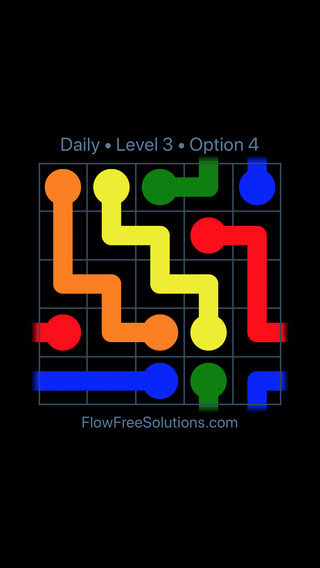 Solution and Answer to the Puzzle for Warps Date Tuesday, April 5, 2016 Level 3