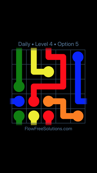 Solution and Answer to the Puzzle for Warps Date Tuesday, June 28, 2016 Level 4