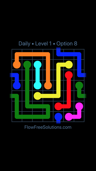 Solution and Answer to the Puzzle for Warps Date Wednesday, January 9, 2019 Level 1