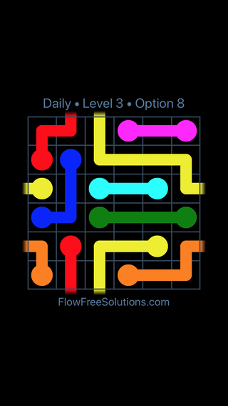 Solution and Answer to the Puzzle for Warps Date Thursday, January 10, 2019 Level 3