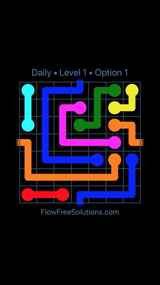 Solution and Answer to the Puzzle for Warps Date Friday, January 11, 2019 Level 1