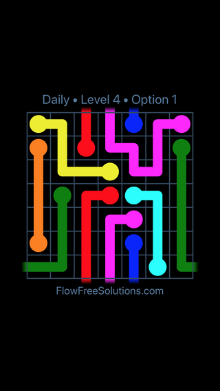 Solution and Answer to the Puzzle for Warps Date Friday, February 9, 2018 Level 4